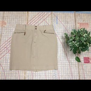 Lauren by Ralph Lauren stretch chino skirt sz 16